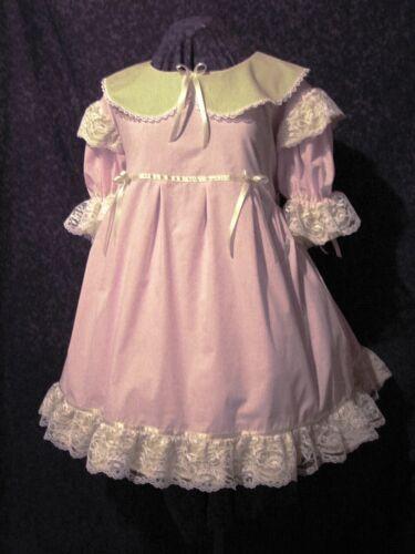 Frilly Mint Adult Baby Sissy Dress Custom Aunt D