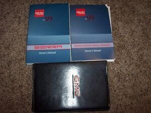 1995 GMC Sierra 1500 2500 3500 Truck Owner Manual SL Dually Wideside