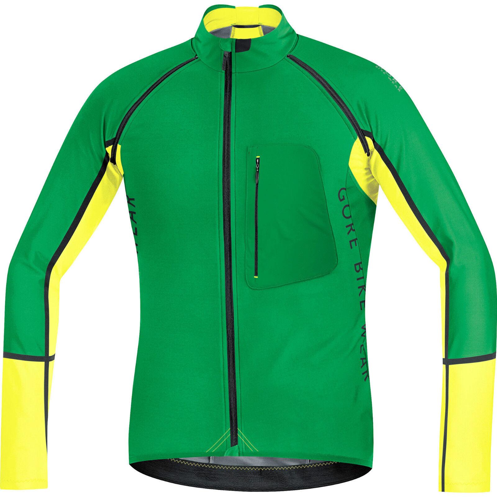 Gore Bike Wear Alp-Pro Windstopper Soft Shell Cremallera X Apagado Chaqueta X Grande