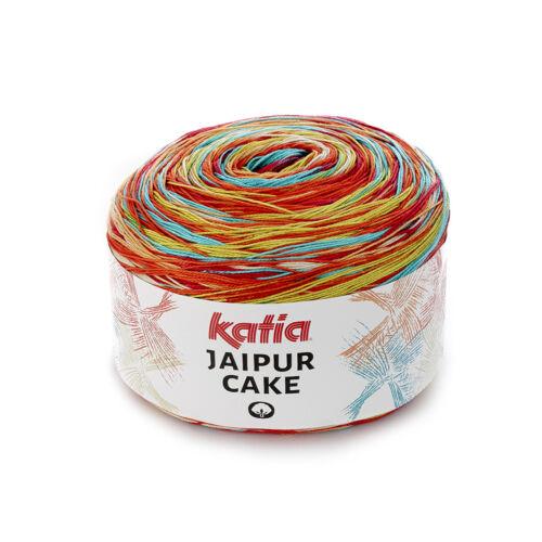 Baumwolle Garn JAIPUR CAKE Katia Frühjahr // Sommer Wolle 200g