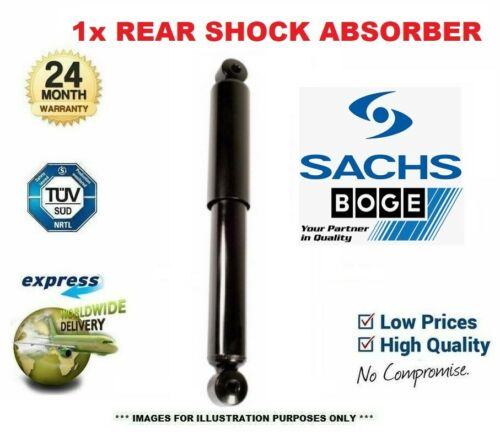1x SACHS Rear Axle SHOCK ABSORBER for VW TRANSPORTER Box 2.0 TSI 4motion 2015-on