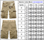 Mens Combat Camo Cargo Pants Shorts Long Tactical Military Army Work Trousers