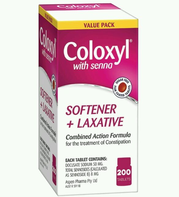 Coloxyl With Senna 200 tablets value pack - OzHealthExperts