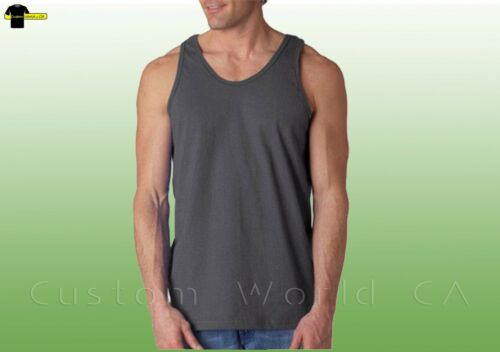 Gildan Mens Ultra Cotton Tank Top 2200   S-2XL  Workout Fitness Shirt Gym Tank