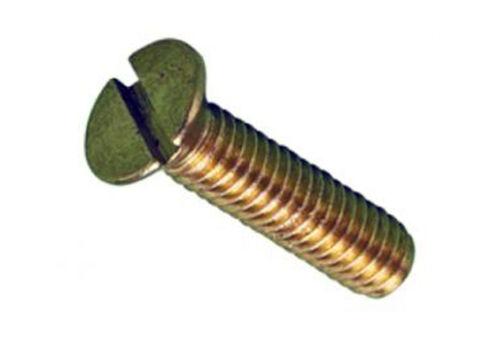 M4 x 12  Countersunk Head Brass Machine Screws Pack 30