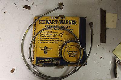 Chrysler-Ford 1930s NOS Stewart-Warner 106-65 Speedometer Cable /& Casing