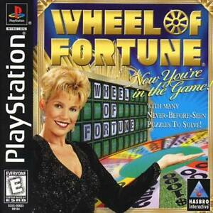 Wheel-Of-Fortune-PS1-PS2-Complete-Playstation-Game