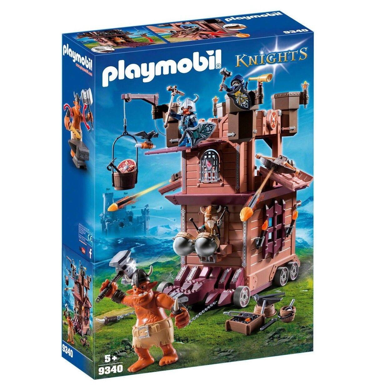 PLAYMOBIL ® Knights-Mobile nains Forteresse  - 9340-Neuf  commander en ligne