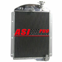 For 41-46 Chevy Truck Factory Engine 3 Row Aluminum Pro Radiator