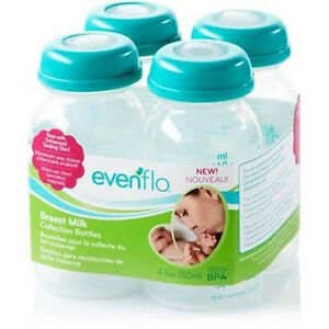 4-Pack-5-oz-Evenflo-Breast-Milk-Collection-BPA-Free-Storage-Bottle-937510