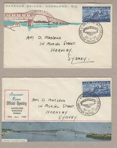 New-Zealand-2-x-1959-Auckland-Bridge-opening-covers-with-special-cancels