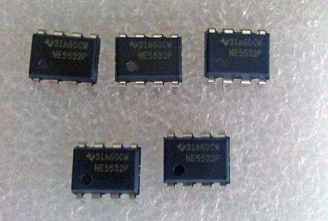 A lot of 50pcs New NE5532P NE5532 Dual Low Noise Op-Amp DIP-8