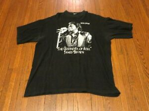 702b5234 Details about Men's Vintage James Brown The Godfather of Soul 1933-2006  T-Shirt sz 3XLT