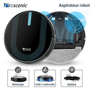 Proscenic 850P Aspirateur robot laveur sol animaux navigation nettoyeur silencie