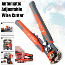 Auto Wire Cutter Stripper Pliers Electrical Cable Crimper Terminal Tool Easy Use