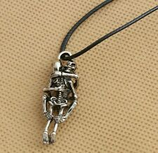 New couple  sex position hugging leather  necklace, pendant