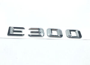 Chrome Letters A 180 Trunk Lid Rear Emblem Badge for Mercedes Benz A-CLASS A 180