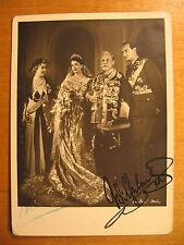 1939 Foto AK signiert Kaiser Wilhelm II. Kaiserin Hermine Haus Doorn