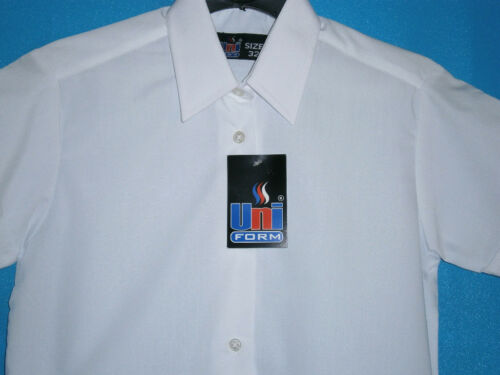 """TOP QUALITY SCHOOL-WORK BLOUSES;SIZES UP TO 50/"""" INCH CHEST GIRLS-LADIES"""