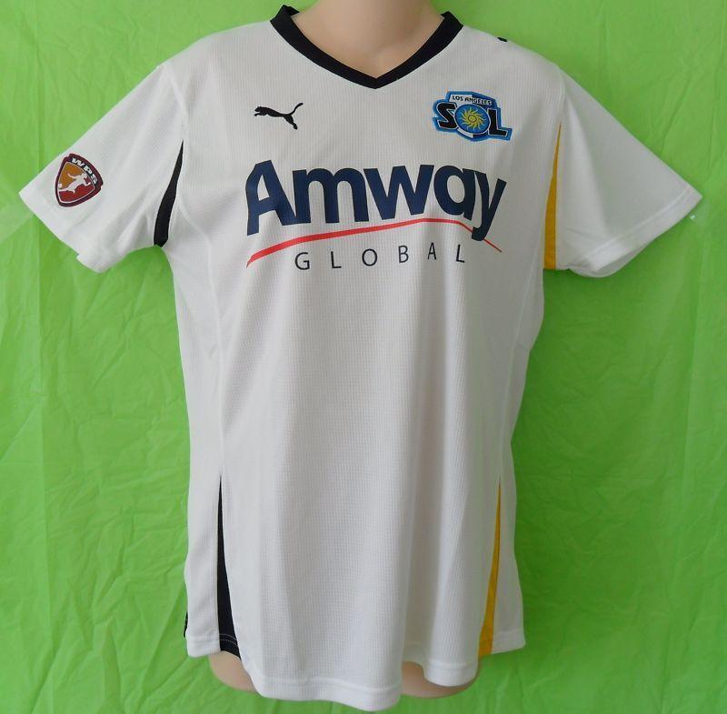 RAREPuma LA LOS ANGELES SOL WPS USA Football Soccer shirt Jerseydonna Sz Med