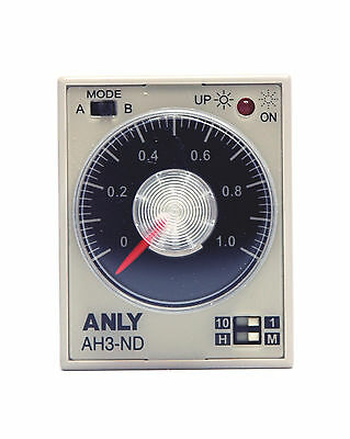 Industrielle 1pc double minuterie atdv-YD 1 m 10 m 1 H 10 H AC110//220V 50//60Hz anly Taiwan