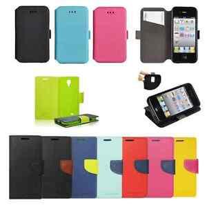3-Book-Case-Silikon-Huelle-Case-Etui-Flexi-Tasche-Cover-Flip-Cover-ver-Handys