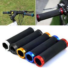 New Metal MTB BMX Bike Bicycle Double Lock On Locking Cycling Handle Bar Grips