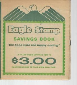 Image Is Loading Vintage Eagle Stamp Green Savings Book Cigarette Coupons
