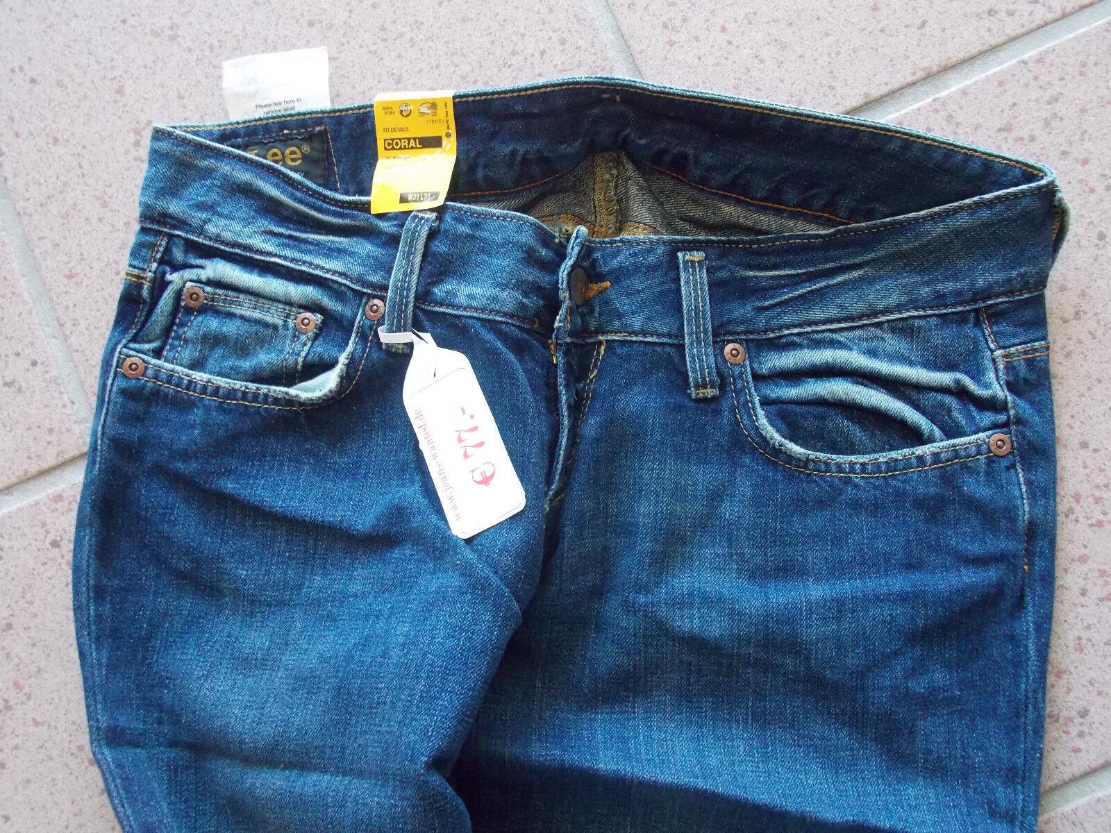 ■■■ LEE Jeans Coral Damenjeans Stiefelcut neu ungetragen 28 28 28 35  ■■■ 236639