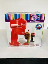 Retro Coca Cola Snow Cone Maker Sno Ice Shaver Crusher Slushy Nostalgia