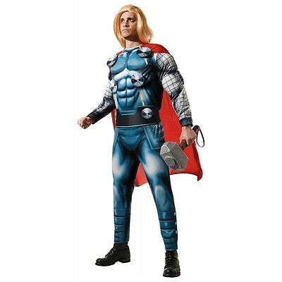 Adult Thor Costume Marvel Avengers Superhero Halloween Fancy Dress