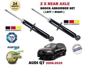 FOR AUDI Q7 FSI TDI 2006-2010 2 x REAR LEFT + RIGHT SHOCK SHOCKER ABSORBER SET