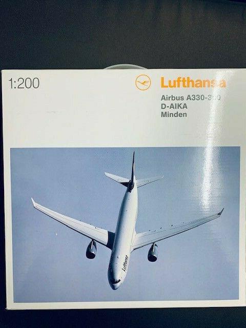 Herpa Wings 1:200 airbus a 330-300 lufthansa Landshut 556583