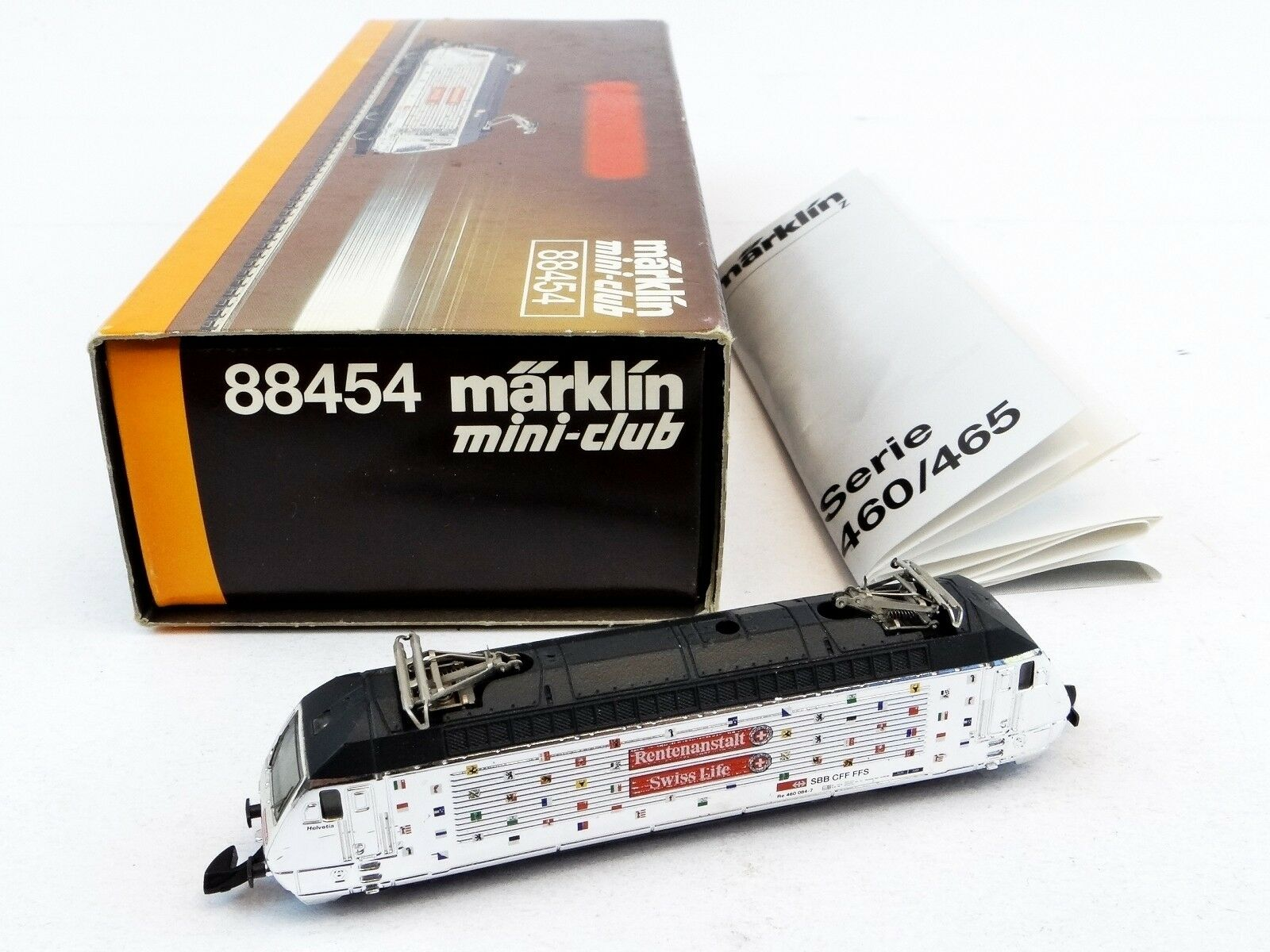 Märklin 88454 mini-club e-Lok serie 460 SBB pensioni manicomio analogico 1 220 Traccia Z