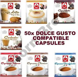 50 dolce gusto compatible coffee capsules pods. Black Bedroom Furniture Sets. Home Design Ideas