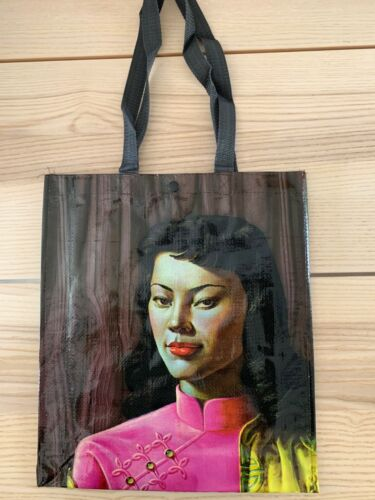 Tretchikoff Sac Fourre-tout//Miss Wong//Hemingway Design Dead Stock//vintage kitsch