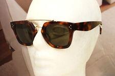 80495f9d2301 CELINE CL 41077 S Bridge sunglasses 05L1E Havana Green Lens 100% Authentic  WOMEN
