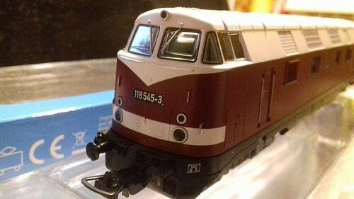 PIKO 59564 Diesellok BR 118 545-3 DR Ep.IV Sparlack Spur H0 neu