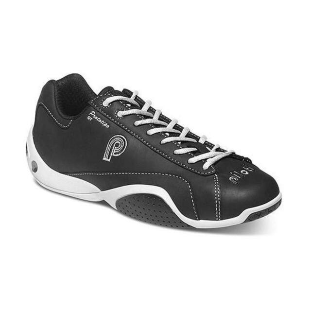 6860b9a1edb New Men's Piloti Prototipo GT Leather Driving Racing Shoes Size 7-11.5 Black