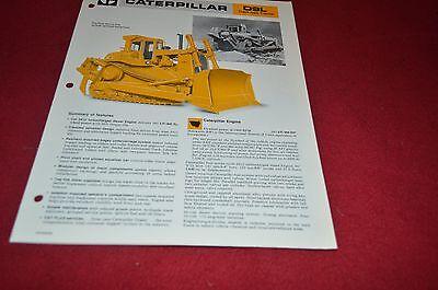 Caterpillar D7H LGP Crawler Tractor Dozer Dealer/'s Brochure DCPA6