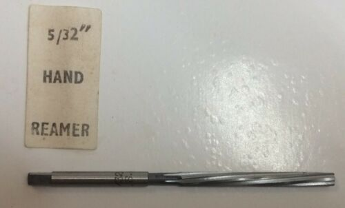 "Osborn Brand Hand Reamer 5//32/"" High Speed Steel Metalwork"