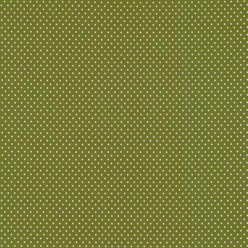 kleine Punkte Swafing Verena Dots Jersey heugrün 3mm