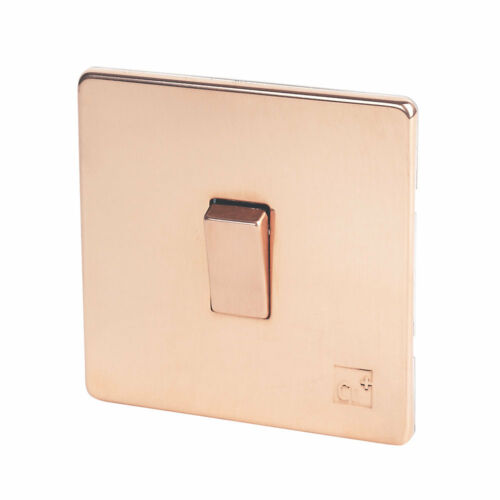 Promotion Copper Switches Lights Sockets Stainless Steel Copper Screwless