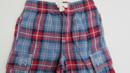 EX BODEN BOYS BRUSHED COTTON TARTAN TROUSERS BAGGIES AGES 1-12 BNWOT