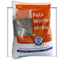 50 kg umweltfreundliches Basalt Streugut Salzfrei Winterstreu Splitt Streusalz