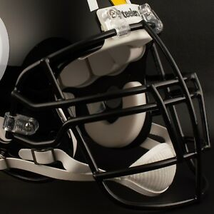 BLACK Schutt Super Pro NJOP-DW Football Helmet Facemask Faceguard