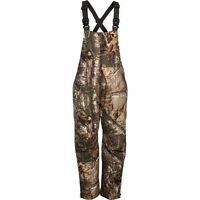 Cabela's Windproof Waterproof Insulated 125 Gm Hunting Bibs Realtree Ap Camo