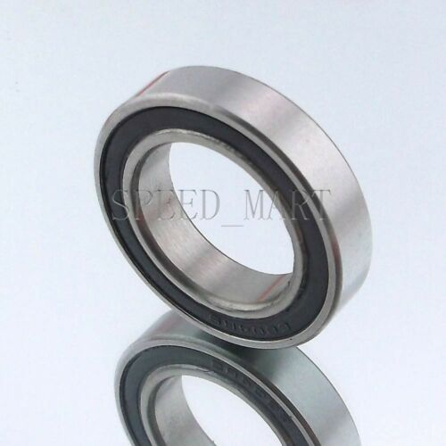 30mm*42mm*7mm 2PCS 6806-2RS 6806RS Deep Groove Rubber Shielded Ball Bearing