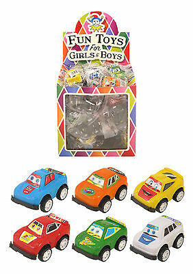 12 Mini Pull Back Cars ~ Party Loot Bag Fillers Pinata Birthday Boys Girls toys