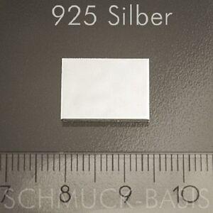 Silberblech echt 0,4 mm 925 Sterlingsilber 100 x 5 mm